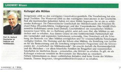 20160223_Landwirt 4-2016_Kulturgut alte Mühlen