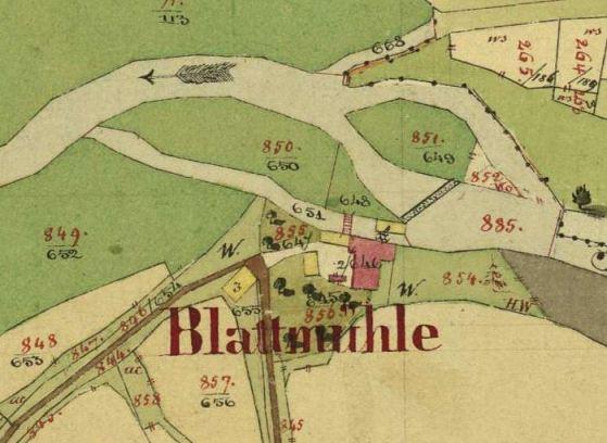 kleines Bild der Blattmühle Brodessmühle