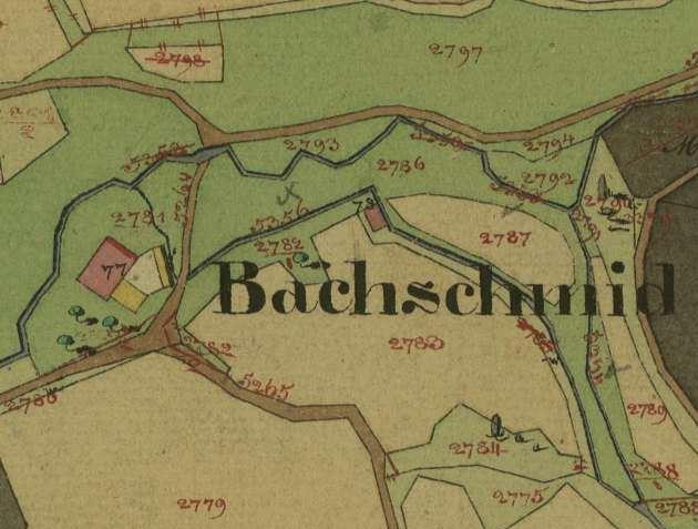 kleines Bild der Bachmühle und Schmiede