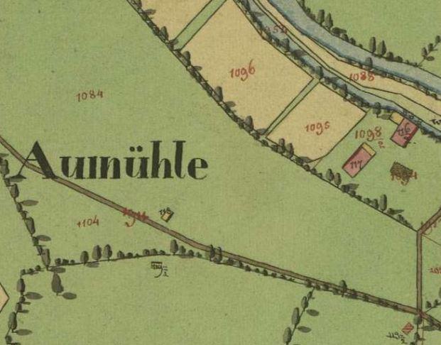 kleines Bild der Aumühle und Säge